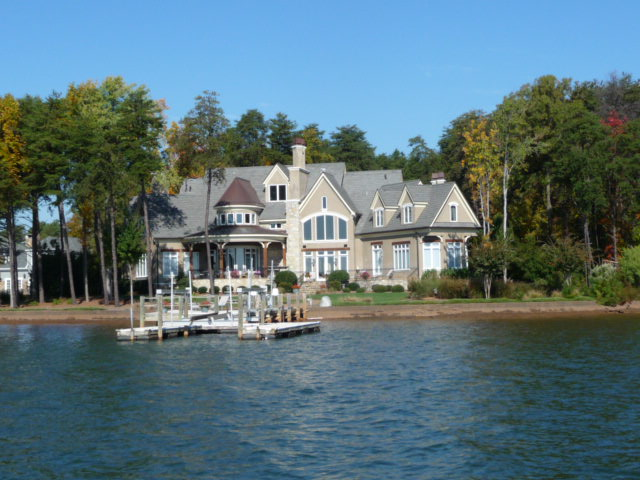 Waterfront Home at The Point on Lake Norman