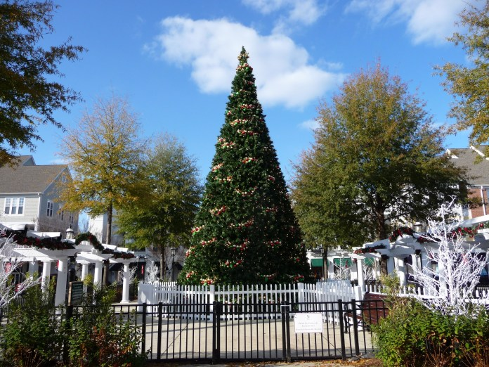 Christmas at Birkdale Village in Huntersville