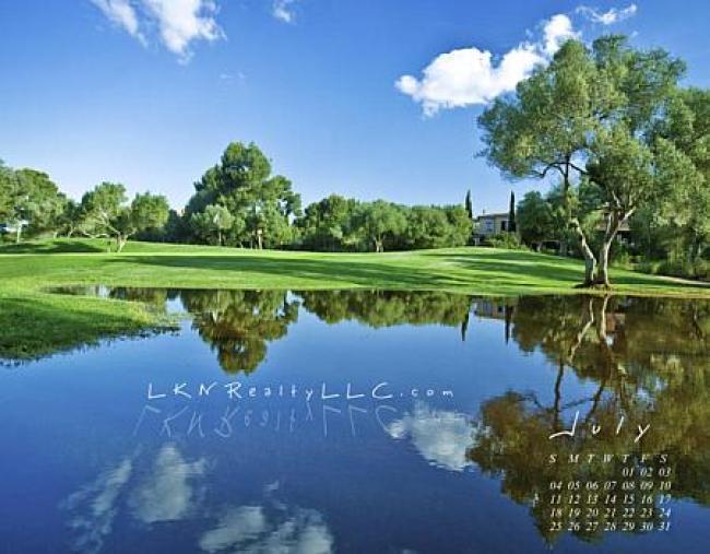 Lake Norman real estate Calendar