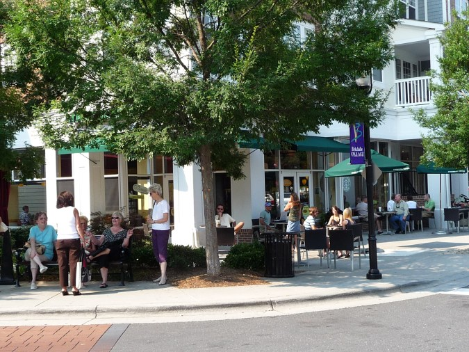Lake Norman's Birkdale Village hangout