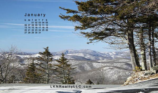 JLake Norman Real Estate's January 2013 calendarPreview
