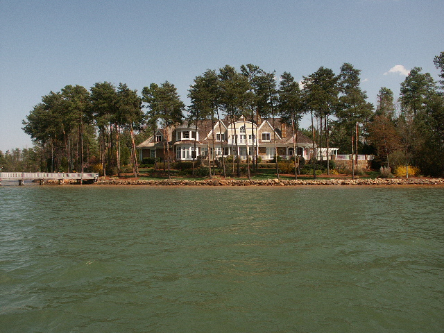 Lake Norman waterfront home at The Point