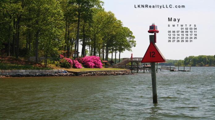 Lake Norman Real Estate's May 2012 Calendar