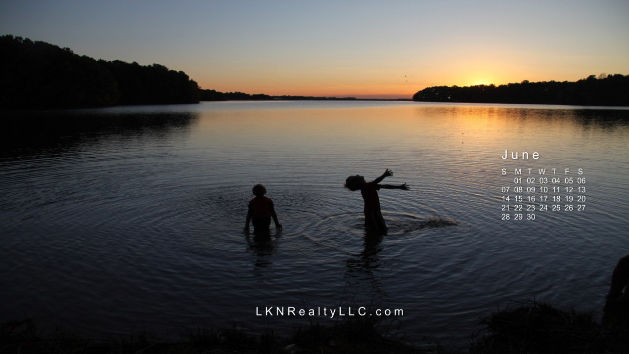 Lake Norman Real Estate's Desktop Calendar for June 2015