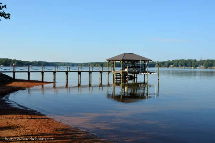 Image of Lake Norman and private dock