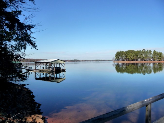 Quiet cove on Lake Norman away from it all