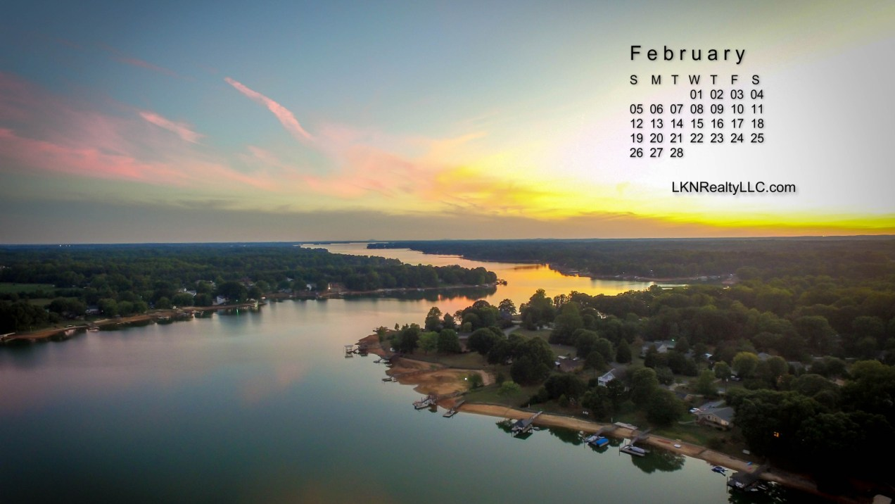 Gorgeous Aerial Photo of Lake Norman