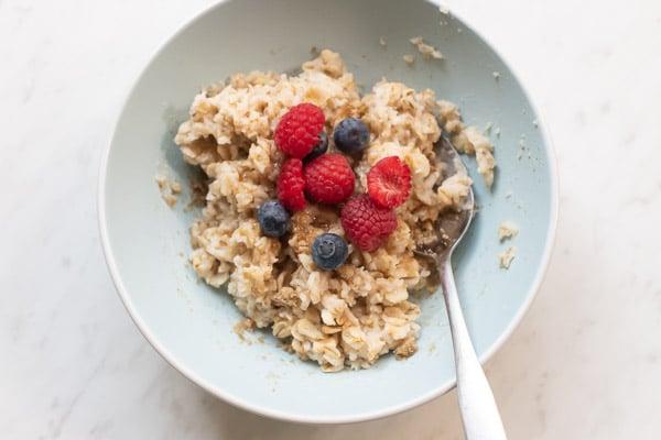 microwave oatmeal recipe easy 4 minute