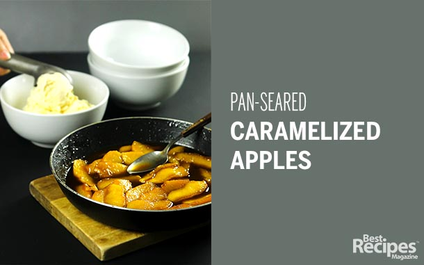 Pan-Seared Caramelized Apples