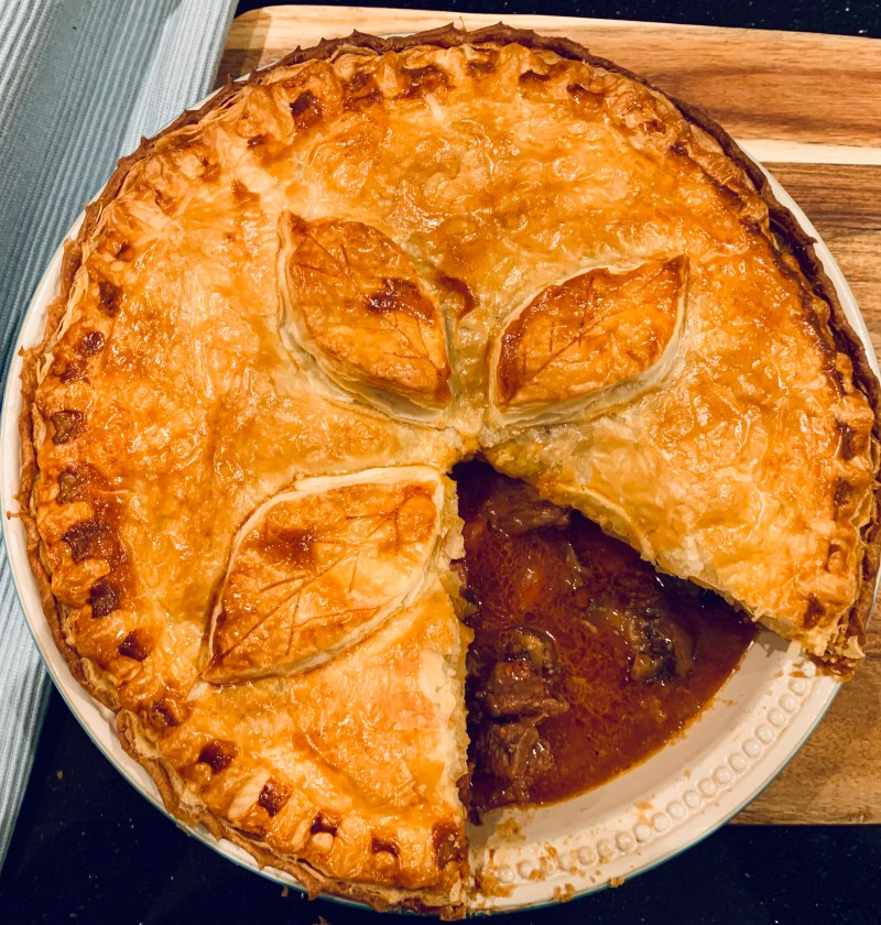 Steak, Ale & Mushroom Pie - Best Recipes UK