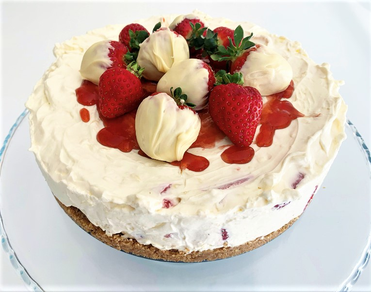 Strawberry White Chocolate Cheesecake Best Recipes Uk
