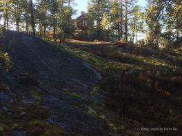 High Coast trail stugas: Askjaberget Rastuga