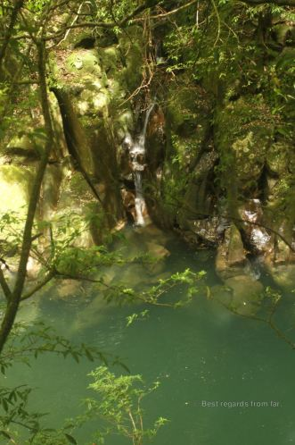 One of the swimming holes in the Kaeda valley
