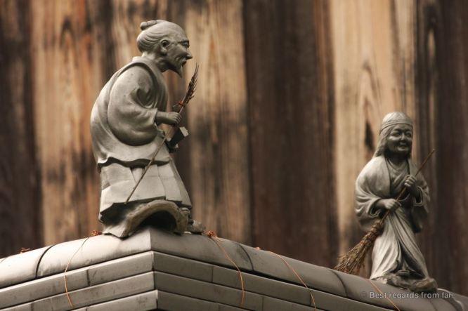 Details along the path of philosophy, Kyoto, Honshu, Japan