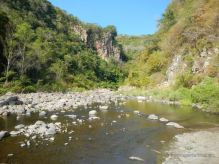 The entrance of the Somoto Canyon, Nicaragua