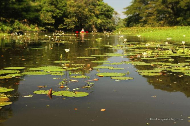 Kayaking the isletas de Granada, Nicaragua