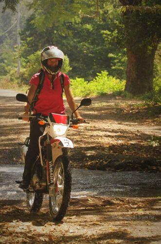 Having fun! Ometepe island, Nicaragua