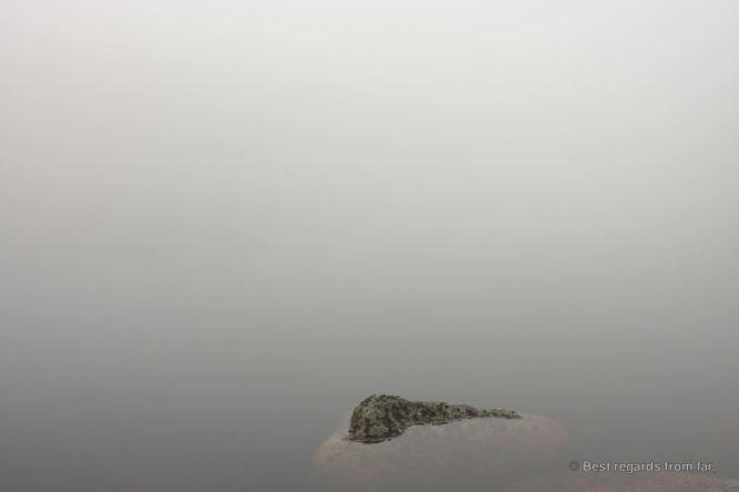 Surreal shot on the High Coast trail (Hoga Kusten), Sweden