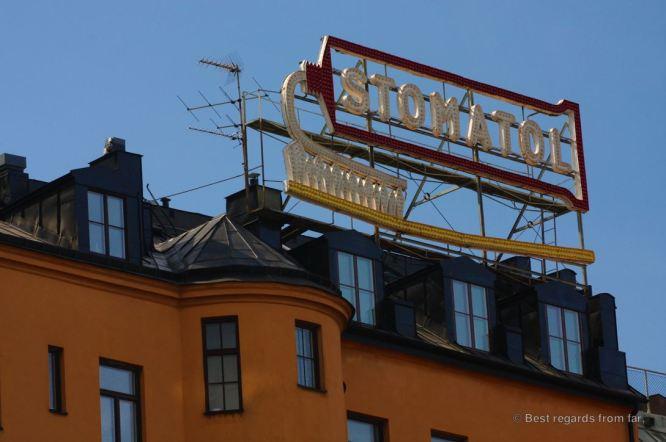 Detail of Södermalm, the hipster neighbourhood of Stockholm, Sweden