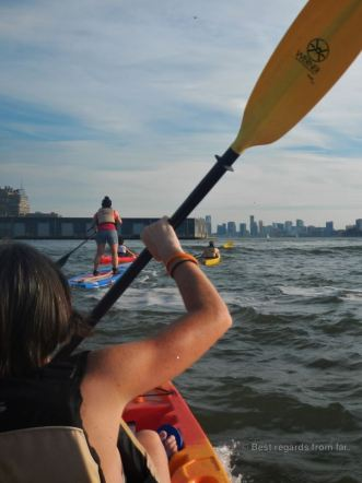 Kayaking the Hudson, New York City