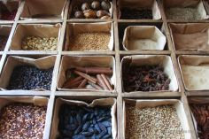 Spices, one of the treasures confiscated by the corsairs of Saint Malo, France