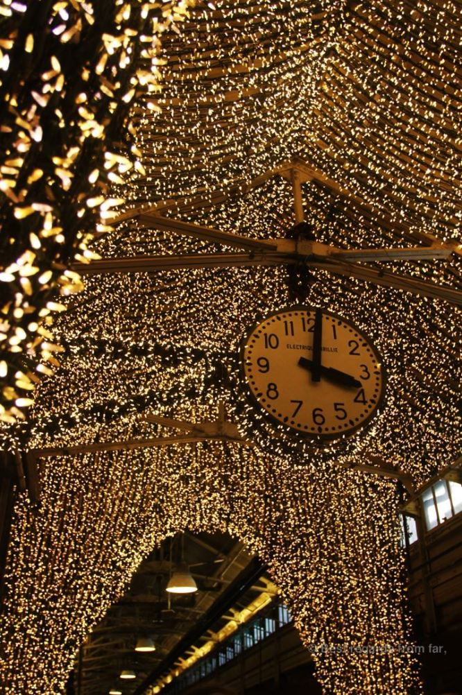 Decorations at Chelsea Market, NYC