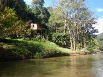 The Mae River bank, Chiang Mai, Thailand