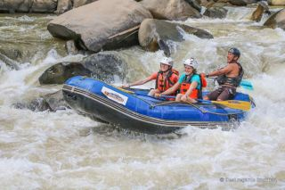 An adrenalin-packed white rafting adventure on the Mae River, Chiang Mai, Thailand