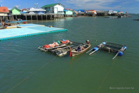 Koh Panyee and its floating soccer field, Phang Nga bay, Thailand