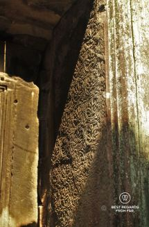 Detail of Ta Prohm, Angkor, Cambodia
