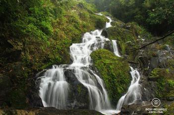 Beautiful waterfalls of Khao Sok National Park, Thailand
