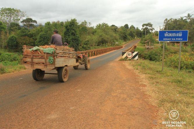Local transport in Laos