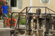 Operating the locks of Fonseranes, Canal du Midi, Béziers