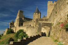 Porte d'Aude, cité de Carcassonne, France