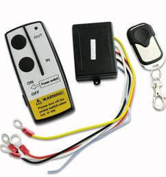 12v 12volt wireless winch remote control handset for truck suv atv winch en1398 projector [ 1001 x 1001 Pixel ]