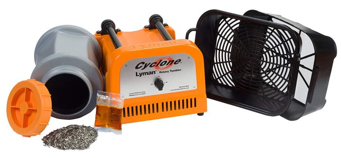 lyman cyclone rotary tumbler review