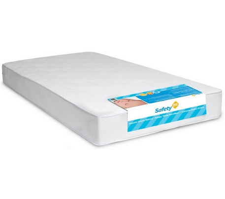 1 Safety 1st Heavenly Dreams White Crib Mattress