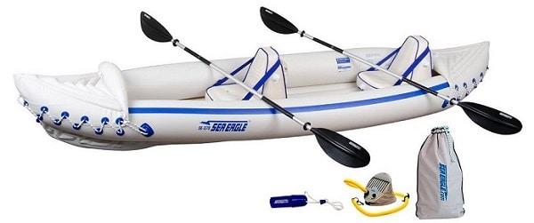 Sea Eagle SE370 Inflatable Kayak Pro Package