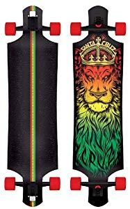 Santa Cruz Lion God Rasta 40-inch Drop