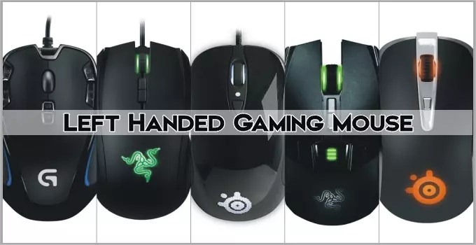 Left Handed Gaming Mouse