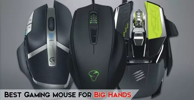 Best Gaming Mouse for Big Hands