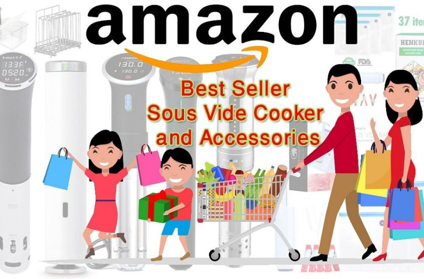 Amazon best sellers home kitchen items sous vide cooker & accessories for 2019