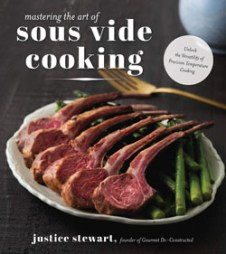 Mastering the Art of Sous Vide cookbook