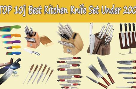 top 10 kitchen knife set under 200$