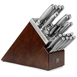 J.A. Henckels International Self-Sharpening 20 Piece Knife Block Set