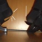 Merkwürdige Schuhgrößen