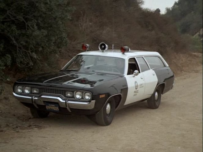 Cop Cars - Adam12 1971 Plymouth Satellite Wagon