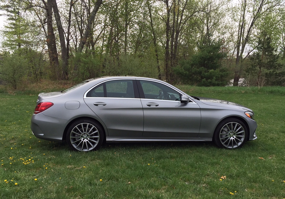 hight resolution of mercedes benz c300 profile