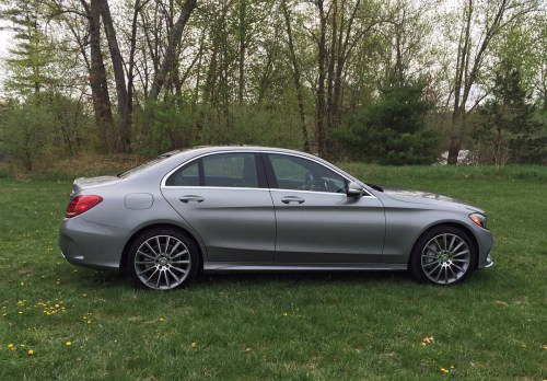small resolution of mercedes benz c300 profile