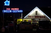 Route 66 in Missouir, Ted Drewes Frozen Custard